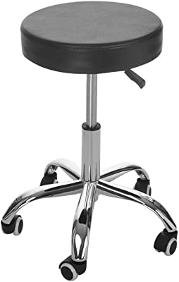 Office Swivel Chairs, Inkach Adjustable Hydraulic Rolling Swivel Salon Stool Chair, Tattoo Massage Facial