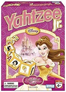 Hasbro Yahtzee Jr. Enchanted Tales Disney Princess Edition