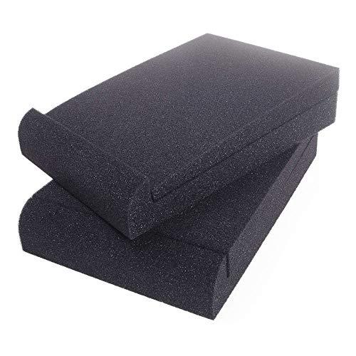 ANGEEK 16x22x3.6cm Speaker Sound Insulation Mat Soundproofing Mat Acoustic Foam Board Sponge Sound Absorbing Pad Sound Reinforcement Cushion