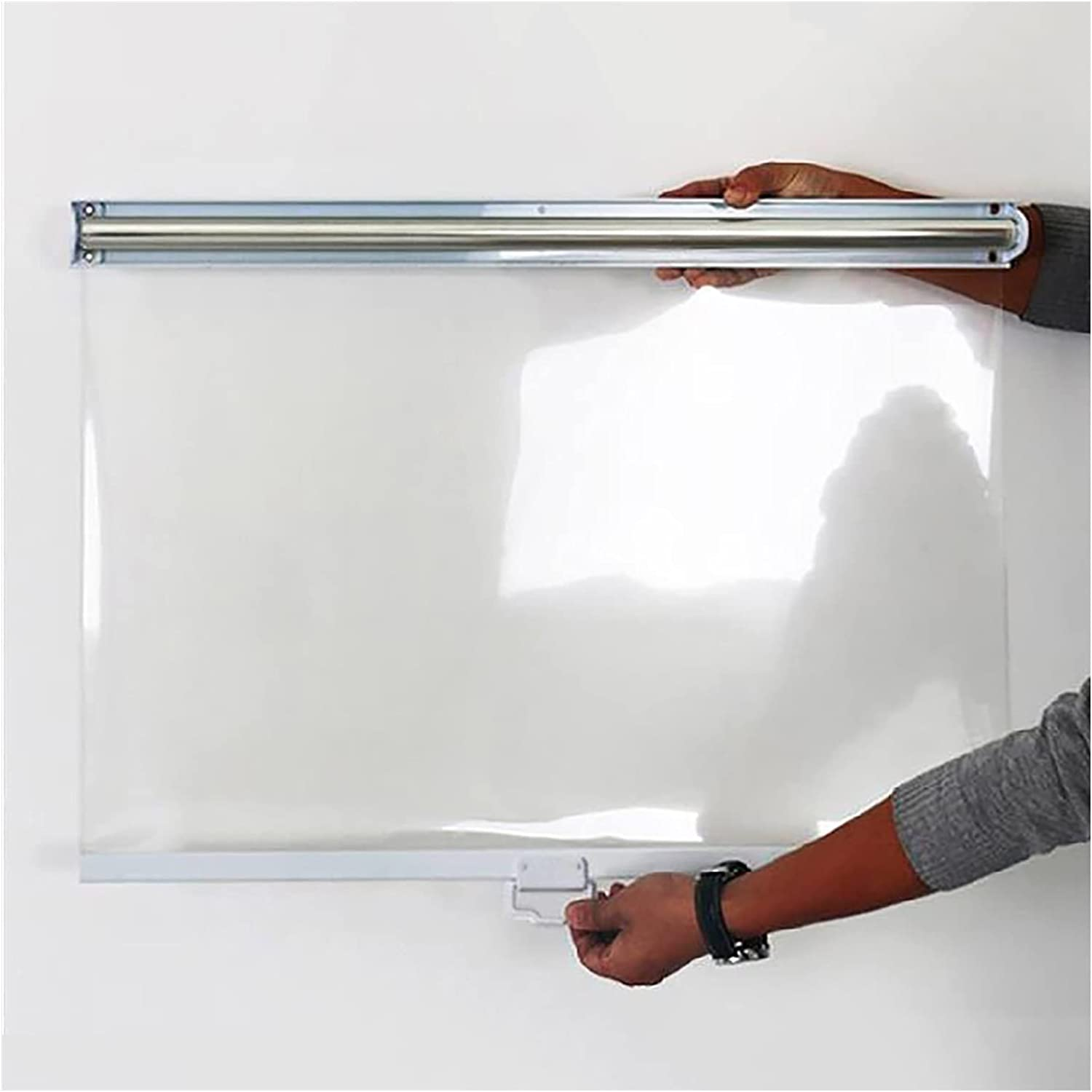 Clear Roller NEW before selling ☆ Seattle Mall Shades with Handle Win Cupboard Freezer Fittings
