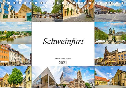Schweinfurt Impressionen (Tischkalender 2021 DIN A5 quer)
