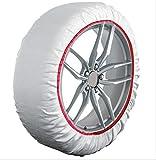 HABILL-AUTO Chaussettes Neige Textile Premium 215 55 R18-225 55 R18-235 50 R18-235 55 R18-245 50 R18-255 50 R18-275 45 R18