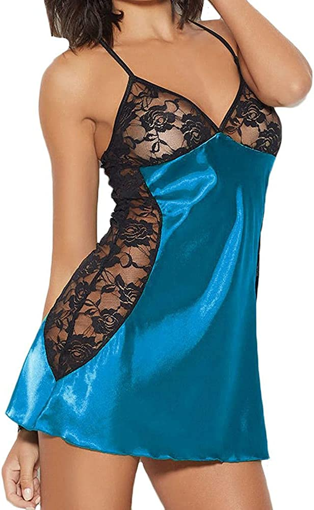 AODONG Lingerie for Choice Women Sexy Lace Nightdress Sheer S Babydoll Max 66% OFF