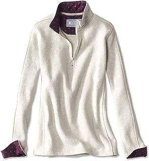 Signature Softest Print-Trimmed Quarter-Zip Sweatshirt