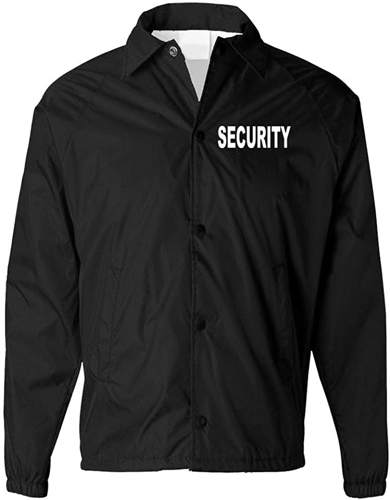 The Goozler Security - Event Staff Duty Windbreaker - Mens Coaches Jacket