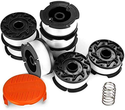 Eventronic Line String Trimmer Replacement Spool, 30ft 0.065' Autofeed Replacement Spools Compatible...
