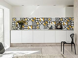 Pack avec 36 10 x 10 cm Moonwallstickers Autocollant Muraux Carrelage Mod/èle Sintra Portugais Decorati/ón