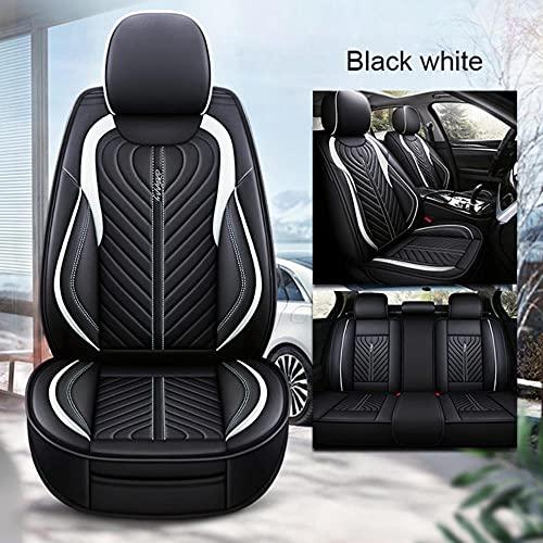 Fundas De Asiento para Coche Universales para BMW E46 E90 E91 E92 E39 E30 E60 E36 E87 E34 G30 F10 F11 F20 F30 E84 E83 320I 520 X5 E70 E53 Serie 1 3 4 5 6 7 Accesorios Coche-Negro Blanco