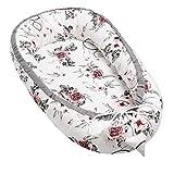 Solvera_Ltd Baby Nest Riduttore per Neonati Sacco Nanna Bambina Bambino Culla Sacco Nanna per Neonati 100% Cotone (Summer Dream)