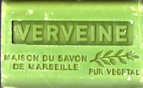 Provenzalische Seife 'Eisenkraut' (Verveine) mit Sheabutter (BIO) (125 GR)