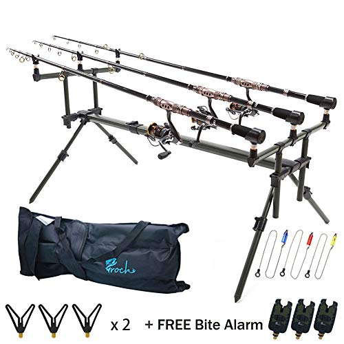 Croch Aluminium Carp Fishing Specialist Goal Post Style Rod Pod...