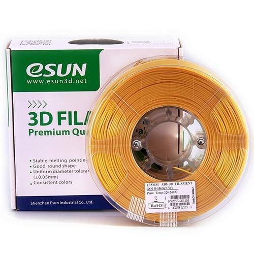 eSUN ABS 1,75 mm 3d stampante filamento Variation, gold, 1