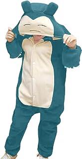 Best Adult Snorlax Plush One Piece Pajamas Christmas Cosplay Animal Homewear Sleepwear Jumpsuit Costume Women Men Review