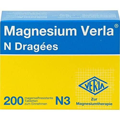 Magnesium Verla N Dragees, 200 St