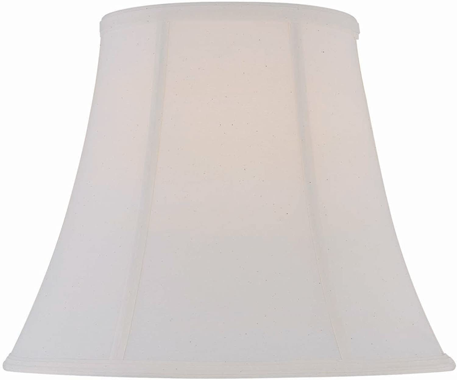 Lite Source CH1183-16 16-Inch Lamp Shade, Off-White