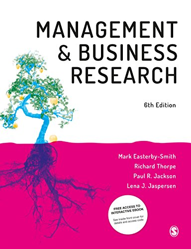Easterby-Smith, M: Management and Business Research