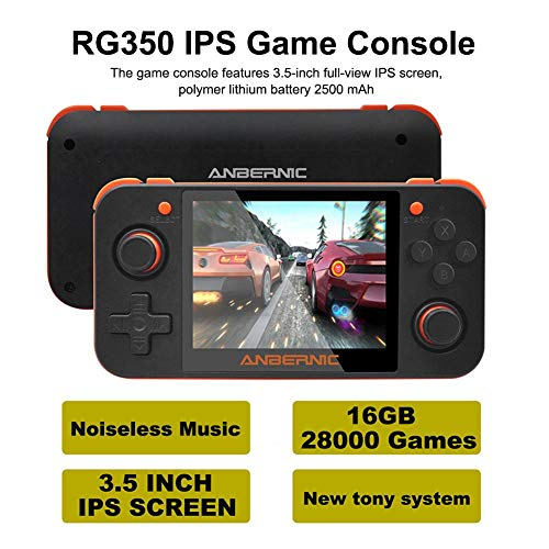 2020 Upgraded Portable Retro Classic Game Console Handheld,LianLe Newest RG350 IPS Retro Handheld Game Console 16GB,Favorite Toy for Boys,Best Gift for Kids Family