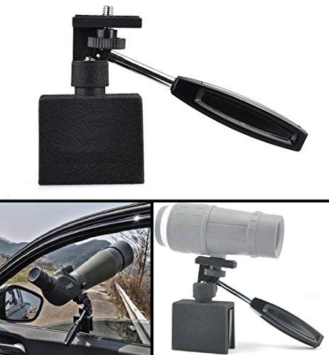 Ultimate Arms Gear Spotting Scope Binoculars Camera Hunting Surveillance Adjustable Vehicle Car Window Mount