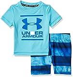 Under Armour Boys' Little UA Volley Set, Surfs Up sp20, 5