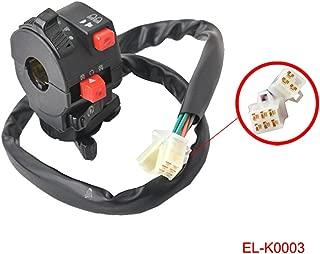 Ignition Kill Start Light Choke Switch for 200cc 250cc 300cc Chinese ATV Quad Taotao Sunl Roketa Kazuma JCL