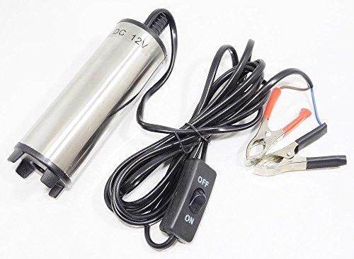 [シーエムワイ セレクト] 水中ポンプ 12V バッテリー クランプ 汚水 給油 灯油 給水 海水 水槽 (2:小型 (Aタイプ))