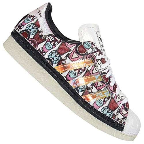 adidas Originals X Mary Katrantzou Superstar 80s Badges Limited Edition AF5272, Schuhgröße:36 2/3 EU, Farbe:Mehrfarbig