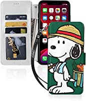 スヌーピー iPhone 11 ケース 手帳型 Iphone 11 Pro Max ケース 手帳型 Iphone 11 Pro/Pro Max ケース 財布型 おしゃれ スマホケース 薄型 Qi充電対応 財布型 Tpu+Puレザー カード収納 マグネット式 カバー 人気