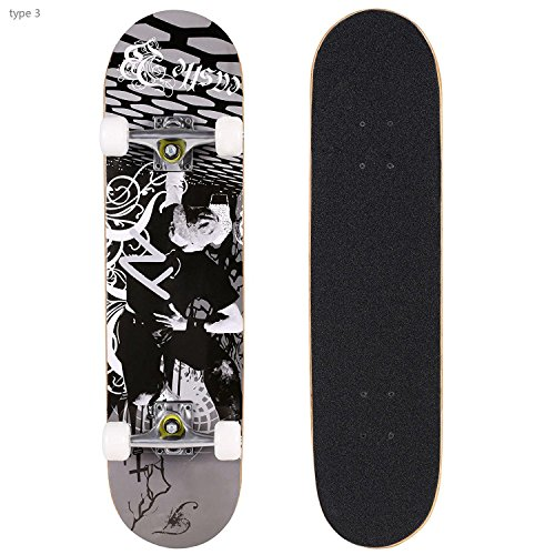 Product Image of the Hikole PRO Double Kick Skateboard