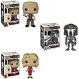 Battlestar Galactica Pop! TV Lt. Starbuck, Cylon Centurian and Six! Vinyl Figures Set of 3