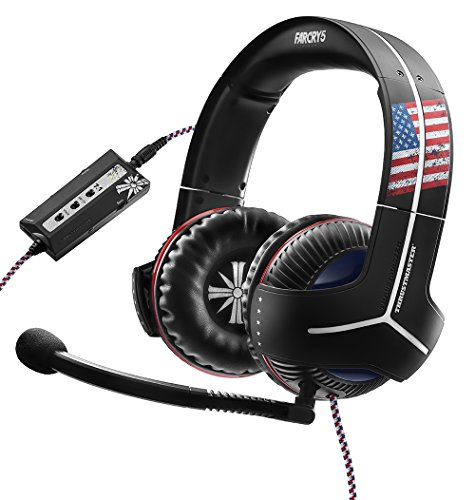 Thrustmaster - Auriculares Y-350CPX Far Cry 5 Edition, Sonido 7.1 (PS4, PS3, Xbox One, Xbox360, PC, VR, Nintendo Switch)