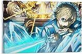 Lienzos De Fotos 60 * 90cm Sin Marco Póster de Anime Sword Art Online Eugeo Pared Arte impresión de Imagen Moderna decoración de Dormitorio Familiar Carteles