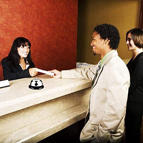 1 Pcs Multifunctioneel Nieuw Bureau Keuken Hotel Balie Receptie Restaurant Bar Ringer Bel Bell Ring Service 8.5cm Kerst Craft, Spanje