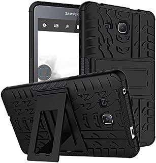 جراب EAZOM Samsung Galaxy Tab A6 7.0 2016 T280 T285، جراب BAUBEY هجين صلب مقاوم للصدمات ومفرج إطار مطاطي صلب لهاتف Samsung...