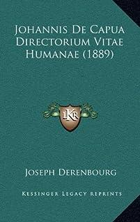 Johannis de Capua Directorium Vitae Humanae (1889)