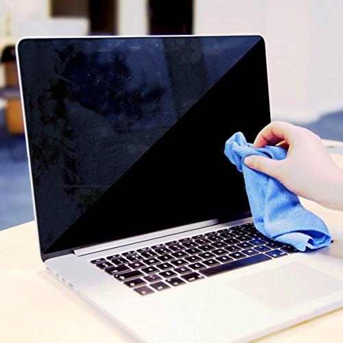 Duronic SCK102 kit de Nettoyage pour écrans 400 ML | Solution pour Nettoyer écran Smartphone, Tablette, Ordinateur, télévision | Lingette en Microfibres | LED, LCD, TFT, Plasma, OLED