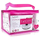 Lycon Hot Professional Waxing Kit - Brazilian Waxing Kit - Salon Waxing Kit for Underarms, Bikini Line, Brazilian, and Face - Hard Waxing Kit Includes Wax Warmer, Hot Wax, Wax Sticks, Pre-Wax Oil, Tea