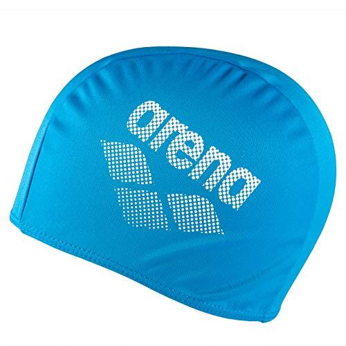 ARENA Unisex Badekappe, Polyester II, Unisex, Erwachsene, Blau, Einheitsgröße (Größe Hersteller: TU)