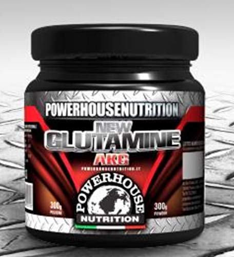PowerHouse Nutrition Glutammina AKG Integratore Alimentare a Base di Glutammina per Crescita Massa...