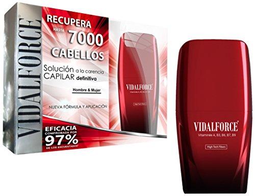 VidalForce, Fibras Capilares Premium Negro 25gr