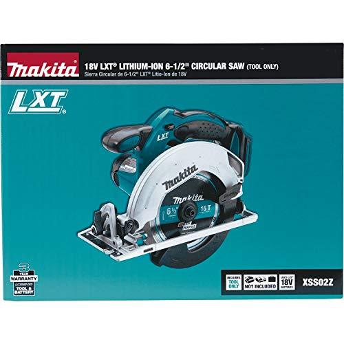 Makita XSS02Z 18V LXT Lithium-Ion Cordless 6-1/2