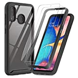 LeYi Case for Samsung Galaxy A20E and Tempered Glass Screen