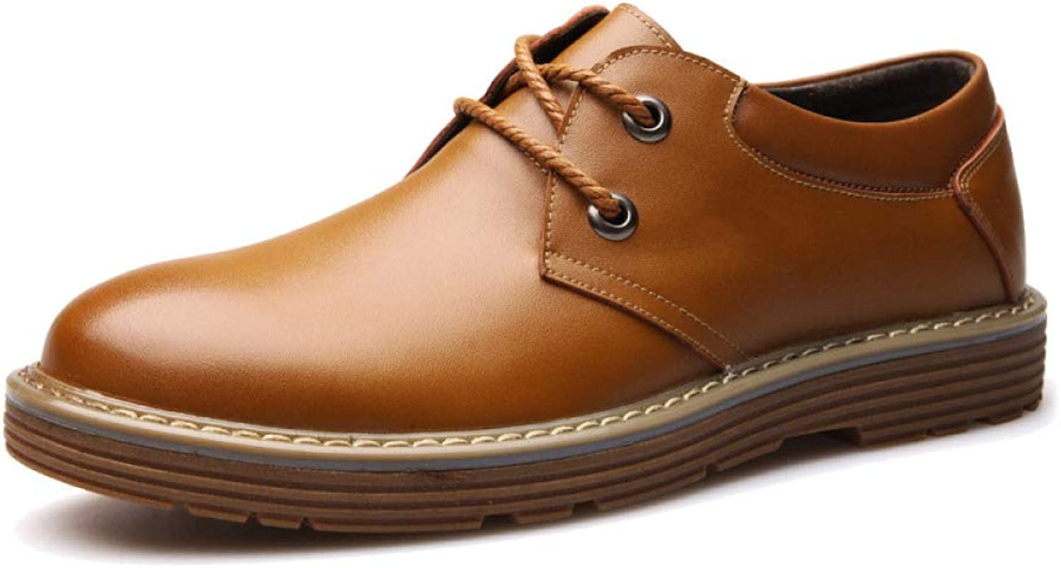 LYZGF Men's Youth Spring Autumn Business Casual Fashion Big shoes