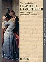 Partition classique RICORDI BELLINI V. - I CAPULETI E I MONTECCHI - CHANT ET PIANO Choeur et ensemble vocal