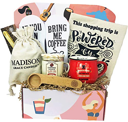 'The Diva Box' - Gift Set for Moms and Empowered Women - (Coffee Lover Version)