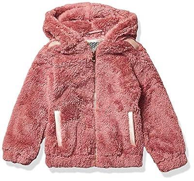 Kensie - Girl's Outerwear Girls' Little Wubby Jacket, Vintage Rose, 7/8