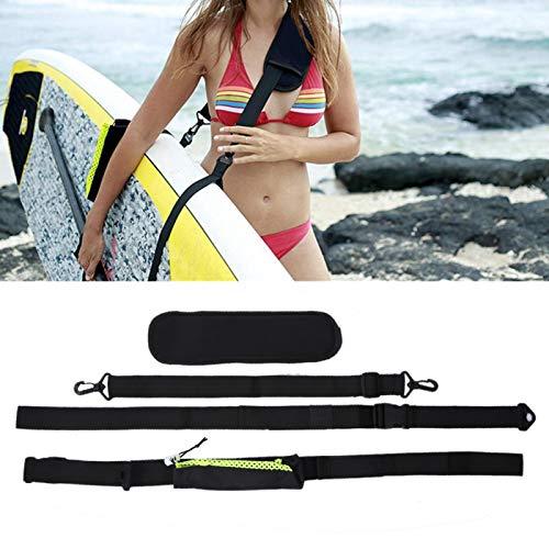 SALALIS Accesorio de Surf con Correa de Nailon Duradero para Tabla de Surf, Accesorios de Surf, Surf, al Aire Libre(Paddle Strap)