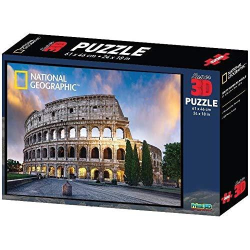 Puzzle 3D Colosseo di Roma