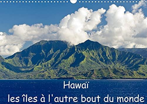 Hawaï les îles à l'autre bout du monde (Calendrier mural 2022 DIN A3 horizontal)