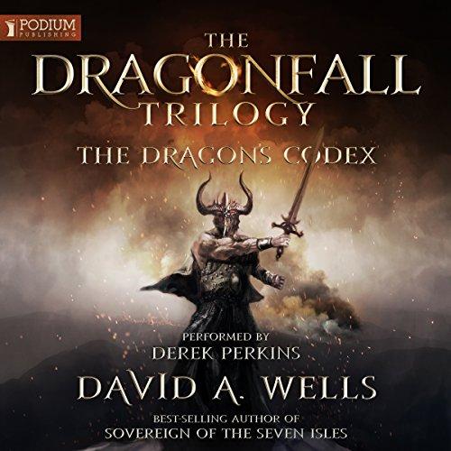 The Dragon's Codex audiobook cover art