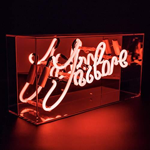 Locomocean Acryl-Box Neon-J'Adore, mehrfarbig